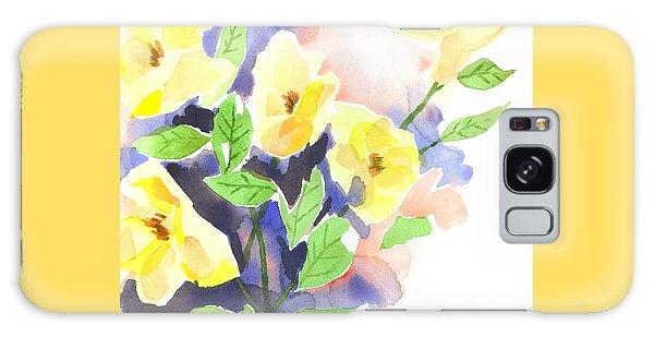 Yellow Magnolias Galaxy Case by Kip DeVore