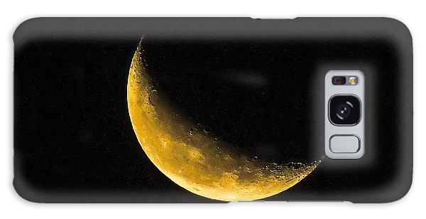 Yellow Moon Galaxy Case