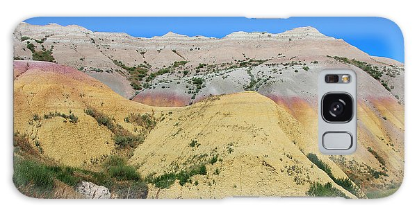 Yellow Mounds Badlands National Park Galaxy Case