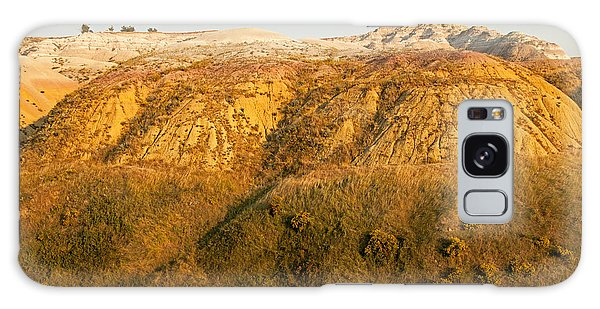 Yellow Mounds Overlook Badlands National Park Galaxy Case