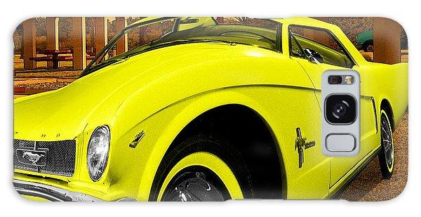 Yellow Mustang Galaxy Case