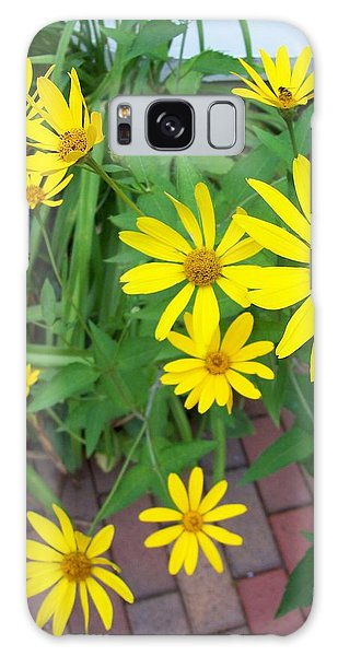 Yellow On Brick Road Galaxy Case