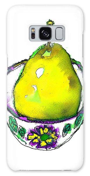 Yellow Pear Galaxy Case
