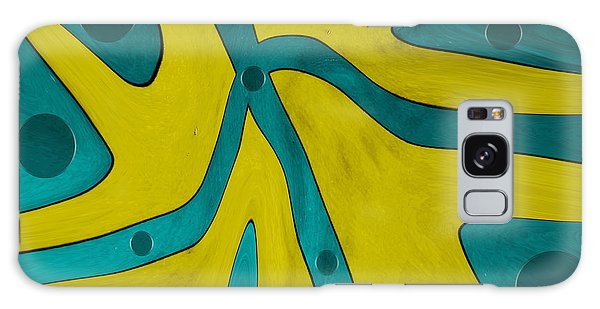 Yellow People Galaxy Case by Sir Josef - Social Critic -  Maha Art