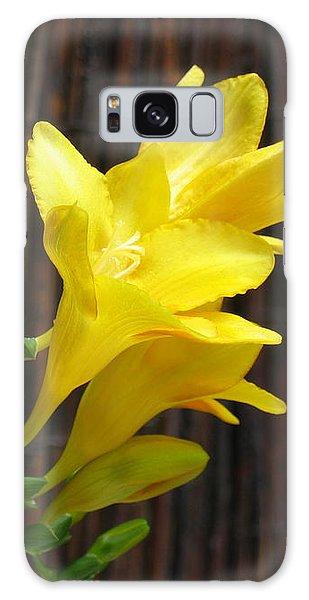 Yellow Petals Galaxy Case