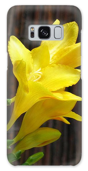 Yellow Petals Galaxy Case
