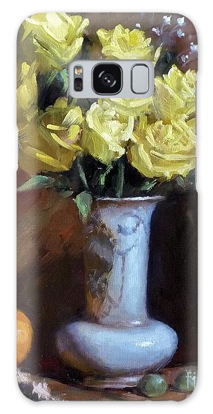 Yellow Rose Bouquet Galaxy Case