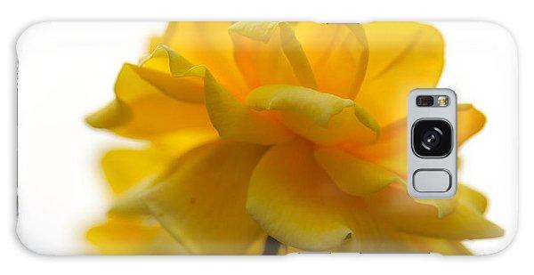 Yellow Rose Garden Galaxy Case