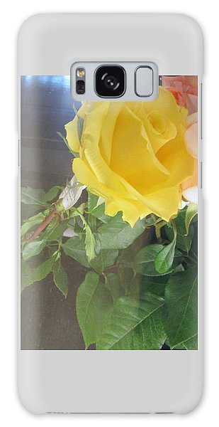 Yellow Rose- Greeting Card Galaxy Case
