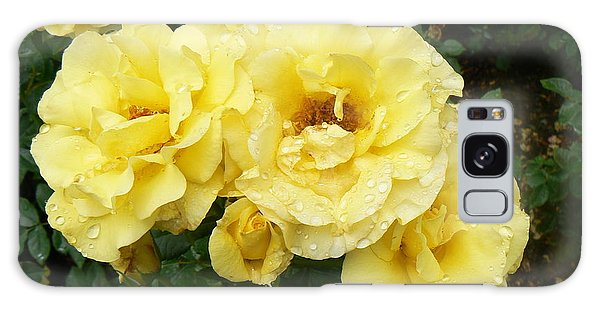 Yellow Rose Of Pa Galaxy Case by Michael Porchik