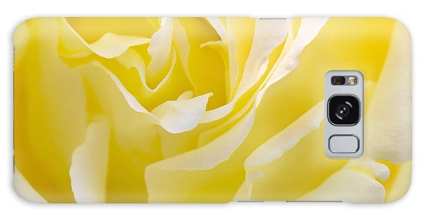 Flower Galaxy Case - Yellow Rose by Svetlana Sewell