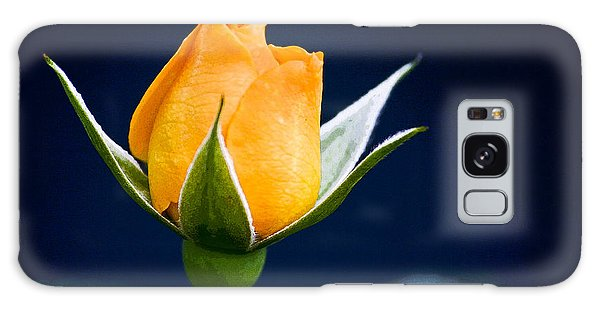 Yellow Rosebud Galaxy Case