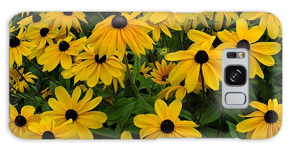 Yellow Rudbeckias Galaxy Case
