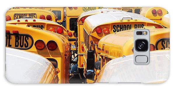 Yellow School Bus Galaxy Case