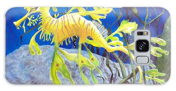 Yellow Seadragon Galaxy Case