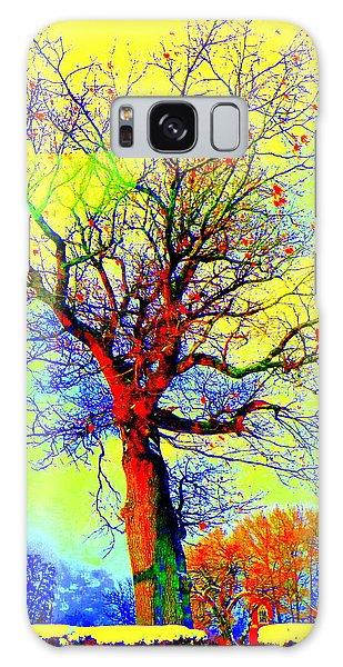 Yellow Sky Galaxy Case by Jodie Marie Anne Richardson Traugott          aka jm-ART