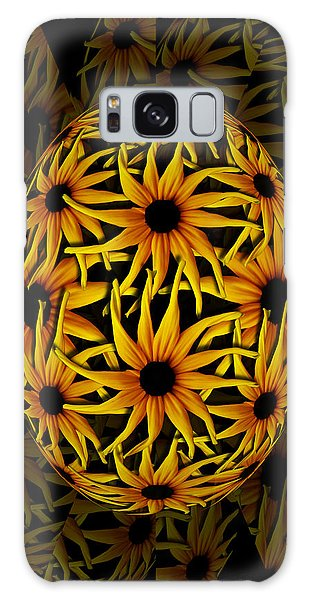 Yellow Sunflower Seed Galaxy Case