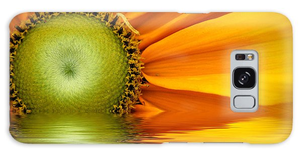 Yellow Sunflower Sunrise Galaxy Case