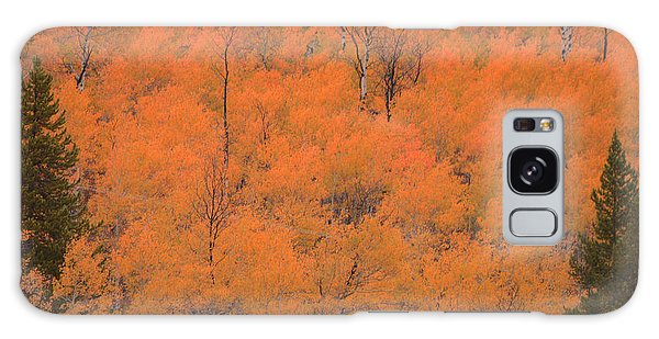 Yellow Teton Autumn Galaxy Case
