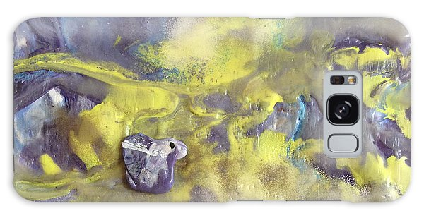 Yellow Tide Pool Galaxy Case
