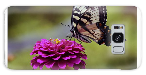 Yellow Tiger Swallowtail Butterfly Galaxy Case by Kay Novy