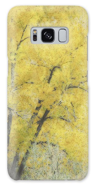 Yellow Trees Galaxy Case