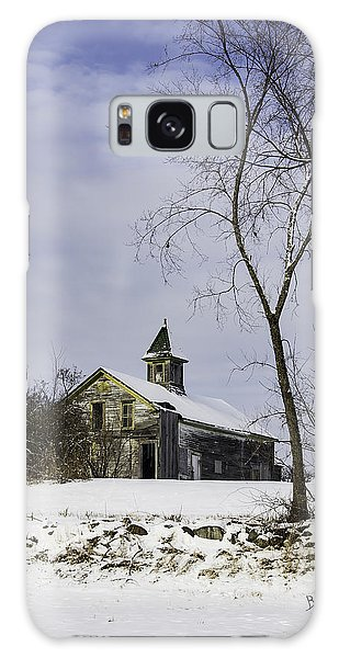 Yellow Trimmed Barn Galaxy Case by Betty Denise