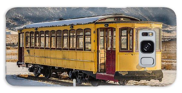 Yellow Trolley Galaxy Case