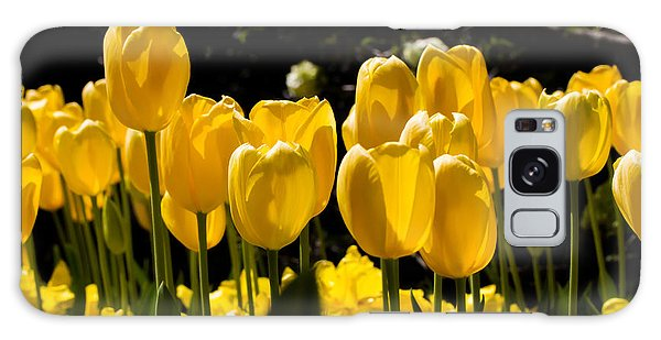 Yellow Tulip Attention Galaxy Case