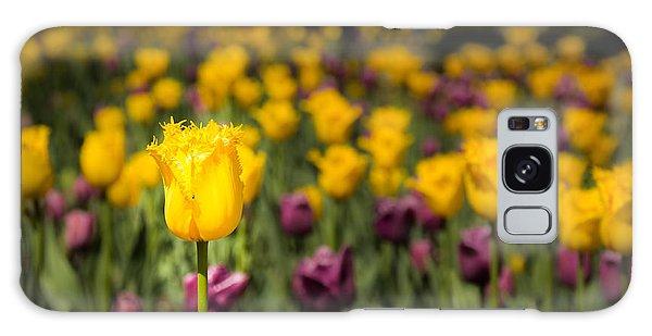 Yellow Tulip Galaxy Case