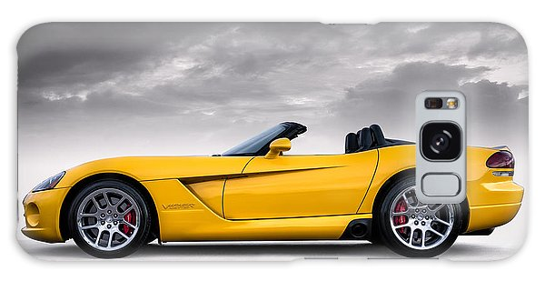 Yellow Viper Roadster Galaxy Case
