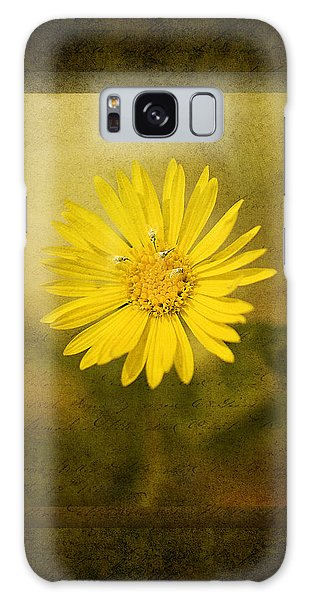 Yellow Wildflower Galaxy Case