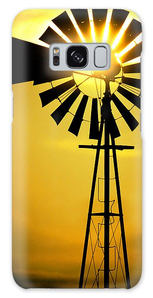 Texas Galaxy Case - Yellow Wind by Jerry McElroy