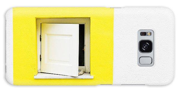 Window Galaxy Case - Yellow Window by Tom Gowanlock