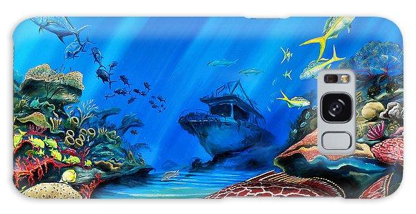 Yellowfin Grouper Wreck Galaxy Case