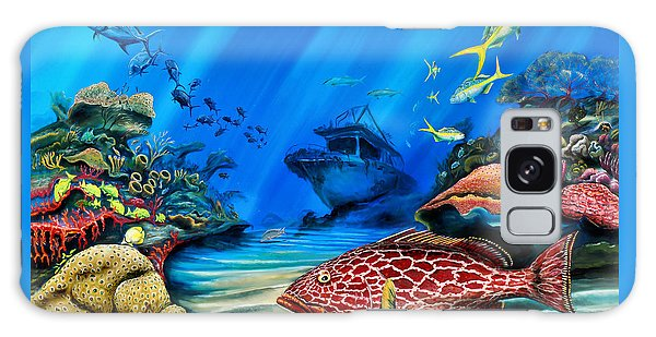 Yellowfin Grouper Wreck Galaxy Case