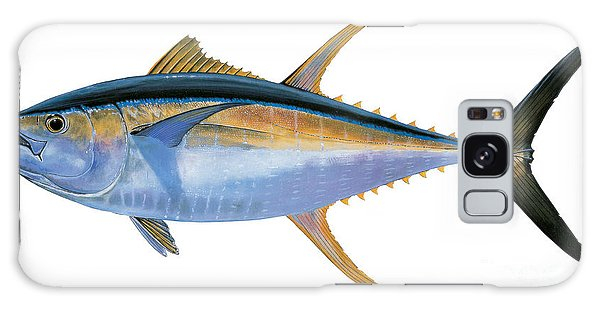 Yellowfin Tuna Galaxy Case by Carey Chen