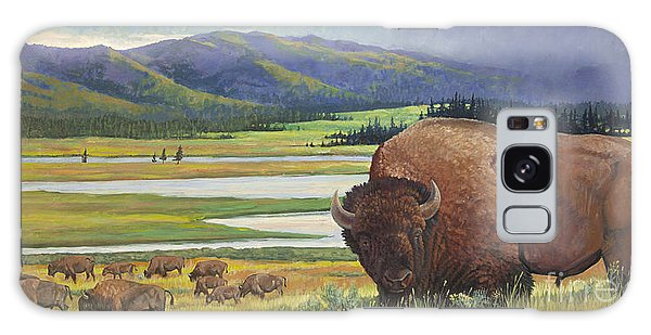 Yellowstone Bison Galaxy Case
