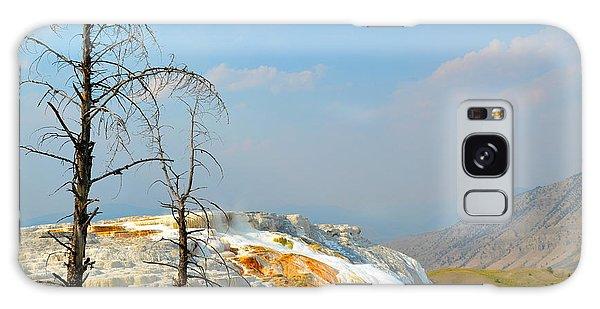 Yellowstone Canary Spring Galaxy Case by Debra Thompson