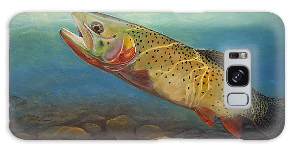 Yellowstone Cut Takes A Salmon Fly Galaxy Case