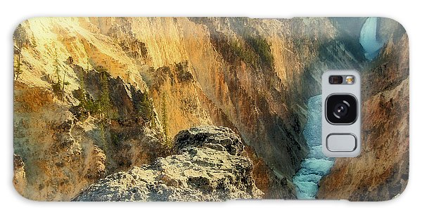 Yellowstone Falls Galaxy Case