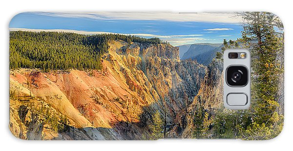 Yellowstone Grand Canyon East View Galaxy Case