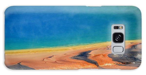 Yellowstone Grand Prismatic Colors Galaxy Case by Debra Thompson