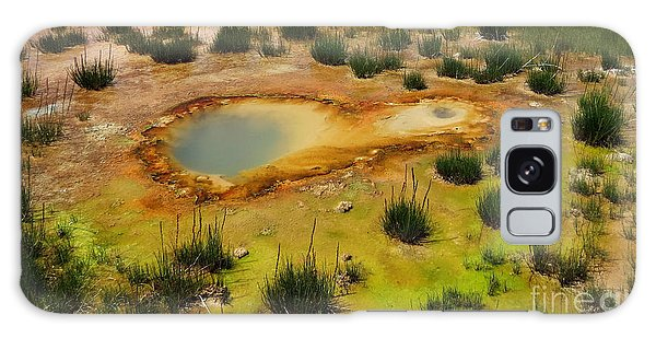 Yellowstone Hot Pool Galaxy Case by Ausra Huntington nee Paulauskaite