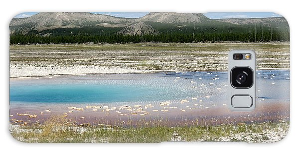 Yellowstone Landscape Galaxy Case by Laurel Powell