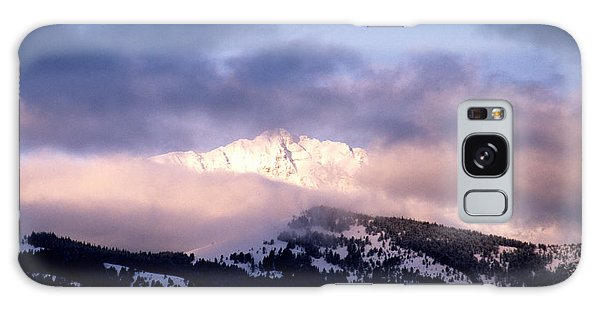 Yellowstone Morning Galaxy Case by Sharon Elliott