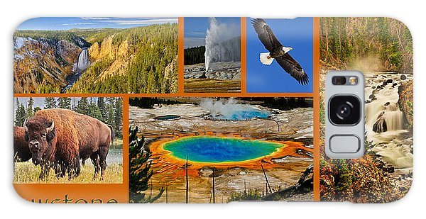 Yellowstone National Park Galaxy Case