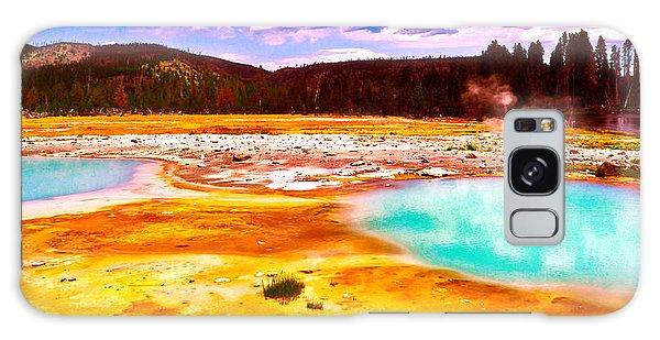 Yellowstone National Park Galaxy Case