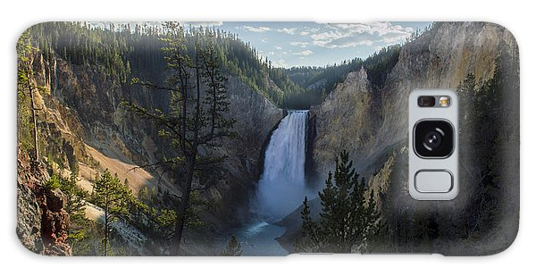 Yellowstone River Lower Falls Galaxy Case