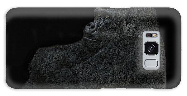 Gorilla Galaxy S8 Case - yes I m the great pretender by Joachim G Pinkawa